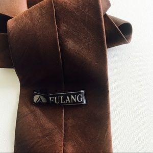 Fulang Accessories - Fulang Bronze Tie EUC